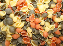 Colorful Pasta Royalty Free Stock Photos