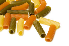Colorful pasta Stock Image