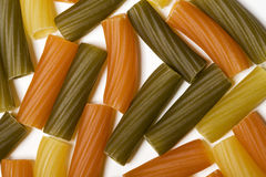 Colorful pasta Stock Photo