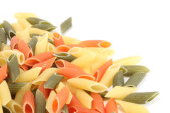 Colorful pasta Stock Photos
