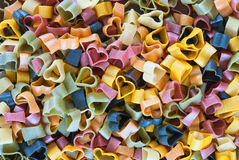 Colorful pasta Royalty Free Stock Images