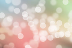 Colorful Pastel Bokeh background Royalty Free Stock Image