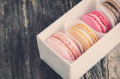 Colorful and pastel Macaroons Royalty Free Stock Image