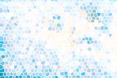 Colorful pastel mosaic background Royalty Free Stock Images