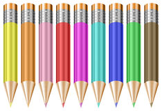 Colorful Pastel Pencils Royalty Free Stock Photography