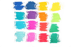 Colorful pastel sticks texture Royalty Free Stock Photography