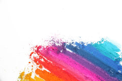 Colorful pastel sticks texture Royalty Free Stock Photo