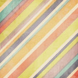 Colorful pastel stripes background Royalty Free Stock Images