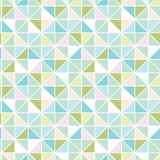 Colorful pastel triangle texture seamless pattern Royalty Free Stock Photography