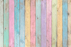 Colorful pastel wood planks texture or background. Vintage colorful old wood planks background or texture royalty free stock images