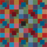 Colorful patchwork background Royalty Free Stock Photos