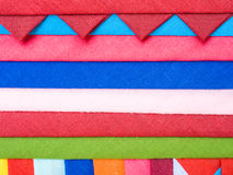 Colorful Patchwork Fabric background Royalty Free Stock Images