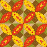 The Colorful Patchwork seamless background Stock Image
