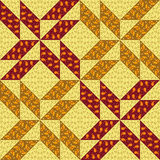 The colorful patchwork seamless background Royalty Free Stock Photography