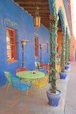 Colorful Patio Dining Stock Photos