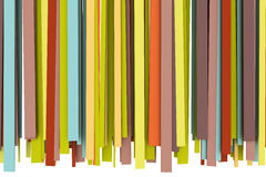 Colorful pattern. Colorful lines background - 3D render Stock Images