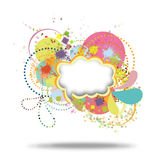 Colorful pattern royalty free illustration