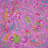Colorful pattern. Colorful abstract seamless floral pattern Royalty Free Stock Photos