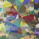 Colorful pattern abstract. With geometrical forms royalty free illustration