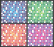 Colorful pattern abstract background Royalty Free Stock Image