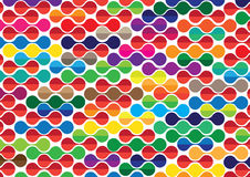 Colorful pattern abstract background Royalty Free Stock Photos