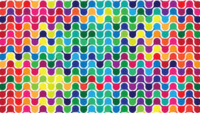 Colorful pattern abstract background Stock Photos