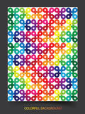 Colorful pattern abstract background Stock Photo