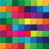 Colorful pattern abstract background Stock Photography