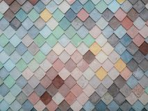 Colorful Pattern Background tiles Royalty Free Stock Image