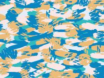Colorful pattern  brown,blue,pink  and green abstarct art wallpa. Per design background Stock Images