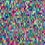 Colorful pattern with chaotic pixels Royalty Free Stock Photo