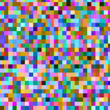 Colorful pattern with chaotic pixels Stock Image