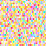 Colorful pattern with chaotic pixels Royalty Free Stock Photos