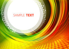 Colorful pattern with circle Royalty Free Stock Photo