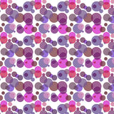 Colorful pattern with dots Royalty Free Stock Images