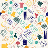 Colorful  pattern of Fashion men clothes Royalty Free Stock Photo