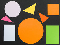 Colorful Pattern of Geometric Shapes Royalty Free Stock Photo