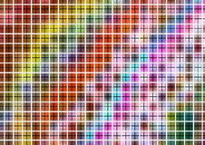 Colorful Pattern with Grid Royalty Free Stock Image