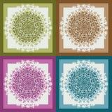 Colorful pattern mandala, ethnic for decoration Stock Photography