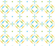 A colorful pattern of roundshapes Stock Images