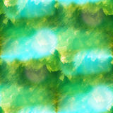 Colorful pattern water green texture paint color abstract seamle Stock Images