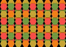 Colorful patterned background. royalty free illustration