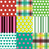 Colorful Patterns Royalty Free Stock Photo
