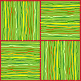 Colorful patterns with irregular lines Stock Image