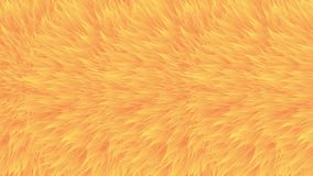Colorful patterns. Orange synthetic fur, vector texture, furry abstract background.  stock illustration