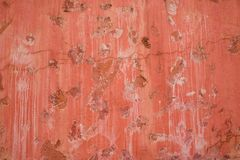 Colorful patterns and textures of old cement wall. stock image