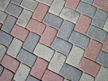 Colorful pavement Royalty Free Stock Photography