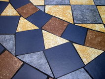 Colorful pavement stock images