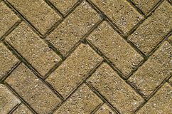 Colorful paving slab, sidewalk tile background? Road texture mosaic. Athens, Greece stock image