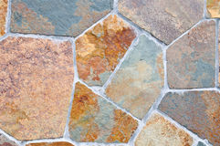 Colorful paving stones Royalty Free Stock Images